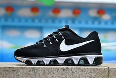 low priced 5a895 aacc6 New Unisex Nike Air Max Tailwind 8 Black White