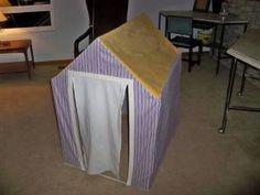 simple pvc playhouse