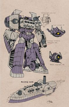 Shockwave - Steampunk concept