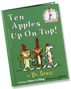 Ten Apples up on Top-Dr. Seuss book and activities to go along with the book. From Chapel Hill Snippets. Pinned by SOS Inc. Resources @sostherapy.