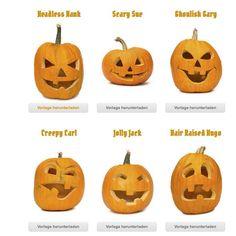 Einfache Schritt für Schritt Anleitung (mit Bildern) zum Thema Halloween Kürbis schnitzen. Inkl. Vorlagen und Tipps zu Werkzeugen! www.moms-blog.de