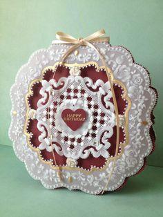 Parchment Craft card