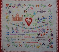 Traditional Portuguese courtship handkerchief.