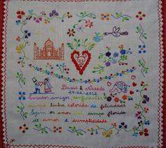Poem:  Married, friends, confidants  A colored line of happiness  The years are a field of flowers  Love and complicity