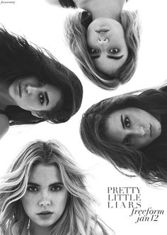 Pretty Little Liars- This is totally my daughter's fault she kept asking me to download her episodes of this I ended up finding it on Netfix and started watching it myself!