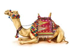How Camel Can Survive in Extensive Heat and Desert Children's Day Greeting Cards, Baby Camel, Black White Art, Egyptian Art, Cute Illustration, Indian Art, Animal Drawings, Pet Birds, Viajes