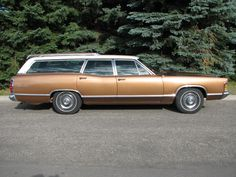 '70 Mercury Monterey Station Wagon