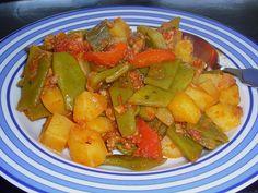 Turkish green bean pot of Yussuf Turkish Recipes, Ethnic Recipes, Turkish Kitchen, Bean Pot, Pots, Snack Recipes, Healthy Recipes, Bratwurst, Slow Food