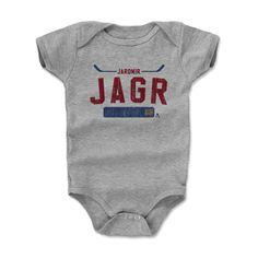 Jaromir Jagr 3 Athletic R Florida Officially Licensed NHLPA Onesie 3-24 Months