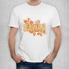 Hawaii T-Shirt by SignShop | ArtZula.com