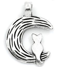 15 Cat on the Moon Charms. Starting at $5 on Tophatter.com!