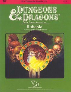 B7 Rahasia (Basic)   Book cover and interior art for Dungeons and Dragons Basic and Expert Editions - Dungeons & Dragons, D&D, DND, Basic, Expert, 1st Edition, 1st Ed., 1.0, 1E, OSRIC, OSR, Roleplaying Game, Role Playing Game, RPG, Wizards of the Coast, WotC, TSR Inc.   Create your own roleplaying game books w/ RPG Bard: www.rpgbard.com   Not Trusty Sword art: click artwork for source