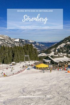 We were so excited to discover a super family-friendly ski area in Sörenberg, located in the biosphere UNESCO reserve Entlebuch in the canton of Luzern. Gondola Lift, Entlebucher, Adelboden, Go Skiing, Water Element, Winter Sun, Picnic Area, Public Transport, Travel With Kids
