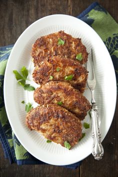 Paula Deen French Onion Pork Chops.  I made these for dinner.  Excellent.  Super easy.  My husband loved them.  (I didn't have boneless pork chops, though.  But good either way.)  For breadcrumbs, I put some old hot dog buns in the oven for a few minutes, then put in the mini food processor.  Delicious!