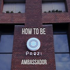 Being brand ambassador of Prezi is a great opportunity for everyone to gain presenting skills and meet fantastic people from all around the world. Here is the tutorial of how to become an ambassador.