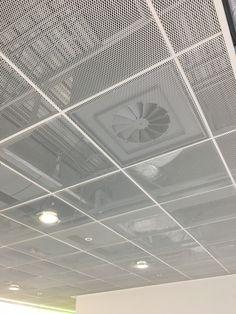 Armstrong Metal Ceiling Panels – Home Lighting Ideas Office Ceiling Design, Pvc Ceiling Design, Metal Ceiling Tiles, Ceiling Grid, Grey Ceiling, Ceiling Panels, Modern Ceiling, Ceiling Decor, Ceiling Lights