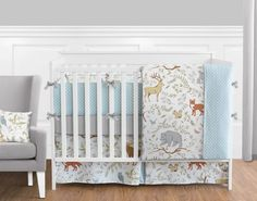 Woodland Toile 9 pc Crib Bedding set has all that your little bundle of joy will need. Let the little one in your home settle down to sleep in this incredible nursery set. This wonderful set will fit all cribs and toddler beds. Teen Boy Bedding, Boys Bedding Sets, Nursery Bedding Sets, Crib Sets, Baby Bedding, Nursery Crib, Comforter Sets, Beauty Photography, Wedding Photography