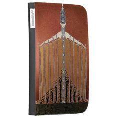 Adoration - Art Deco - Caseable Kindle Folio