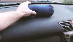 Op het dashboard van zijn auto legt hij een sok! De reden waarom hij dit doet is werkelijk BRILJANT! - Pagina 6 van 7 - Zelfmaak ideetjes