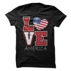 [Love Tshirt name font] Love America T-Shirt   Coupon Today