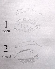 eye drawing video ~ open and closed eyes drawing videos Cool Art Drawings, Pencil Art Drawings, Art Drawings Sketches, Realistic Drawings, Sketches Of Boys, How To Draw Realistic, Eye Drawing Tutorials, Drawing Techniques, Art Tutorials