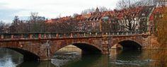 Maxbrücke, älteste Steinbrücke über die Pegnitz