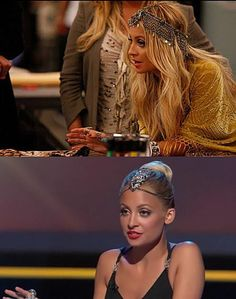 Hair jewelry by Nicole Richie...Love
