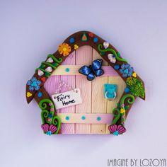 Magic Fairy Door Model Orquidea // Puerta mágica de hadas Modelo Orquídea