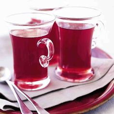 Spiced with cinnamon and ginger, this non-alcoholic cranberry and citrus drink is sure to keep you warm during your holiday celebrations.