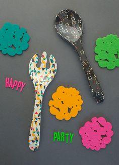 throw a party, toss a salad!