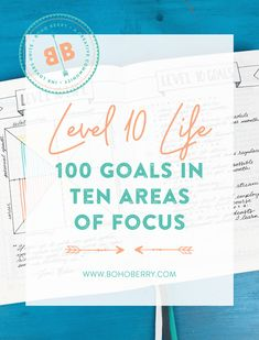 Are you living your Level 10 Life? Find out the 10 key areas of focus that you need to concentrate on to start living your own Level 10 Life today!