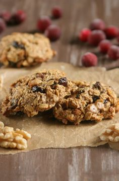 Cranberry Walnut Breakfast Biscuits