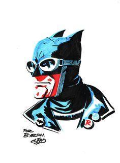 Rockabilly Batman by Michael Cho