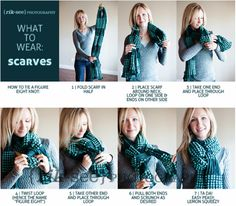 Awesome way to wear a scarf