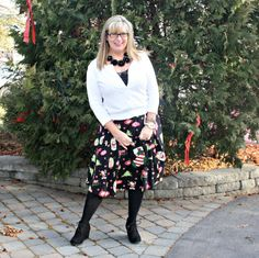 Santa skirts and lace cardigans 8