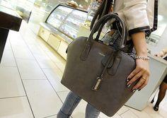 Office Women's Tote Bag With Splice and Rivets Design Color: GRAY, WINE RED, BLUE, PINK Category: Bags > Women's Handbags > Tote Bags   Handbag Type: Totes  Style: Dress  Gender: For Women  Embellishment: Rivet  Pattern Type: Patchwork  Handbag Size: Medium(30-50cm)  Closure Type: Zipper  Interior: Interior Zipper Pocket  Occasion: Business  Main Material: Suede  Hardness: Hard  #retrorivershoulderbag #retrobag #dressbag #womenbag #bridgat.com
