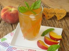Şeftalili Ice Tea (Soğuk Çay) Resmi