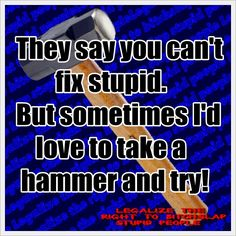 No kidding!