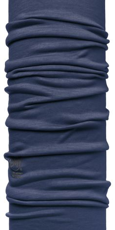 Merino Wool Buff, Blue Depth - classic shape, but with a few extra inches of length for cozy protection, soft, warm even when it's wet. It's the soft, breathable extra layer of insulation. 12+ ways to wear, water repellent, odor resistant, flameproof, durability, UV protection and natural stretch and elasticity. Thermal protection. Cool in the summer. Semi-seamless. Quick drying. One size