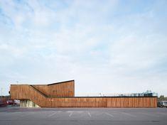 Tetra Architects - Visitor's center at the port of Ghent, 2013. Photos © Dennis De Smet, Filip Dujardin.