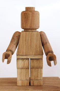 Lego en bois par Thibaut Malet, ébéniste sur www.milkdecoration.com