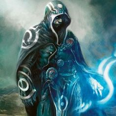 Jace Beleren Magic: The Gathering Planeswalker artwork fantasy art ...