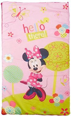 "Disney Minnie Mouse ""Bowtique"" Garden Party Slumber-Bag, 2015 Amazon Top Rated Slumber Bags #Home"