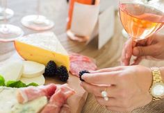 Wine Tasting: Got engaged at the same time as one of your main ladies? Throw a joint party in the form of a wine tasting! Get silly with all of your girls, and be sure to have tons of snacks on hand for when the liquid diet stops cutting it
