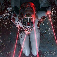 Drawing In Cyber Max : Photo - Cyberpunk 2077, Sci Fi Fantasy, Dark Fantasy, Arte Van Gogh, Arte Robot, Cyberpunk Aesthetic, Arte Obscura, Cyberpunk Character, Robot Concept Art