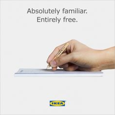 Ikea Mocks Apple Pencil in Clever New Ad Creative Advertising, Advertising Campaign, Advertising Space, Ipad Pro, Ikea Ad, Apple Pencil, Communication, Great Ads, Graphic Design Inspiration