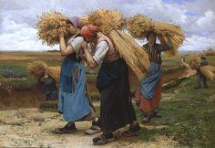 Glaneuses, par Julien Dupré (1851-1910)