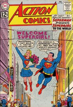 Action Comics (DC, 1938) #285 - Before our comic book heroes' values were replaced with darker and more cynical ones by modern writers.