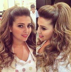 Nice hair with volume Popular Ladies Dance Hairstyles, Bride Hairstyles, Pretty Hairstyles, African Hairstyles, Poofy Hair, Big Hair, Pageant Hair, Hair Due, Pinterest Hair