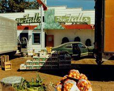 stephen shore, us 10 post falls, idaho  august 25, 1974